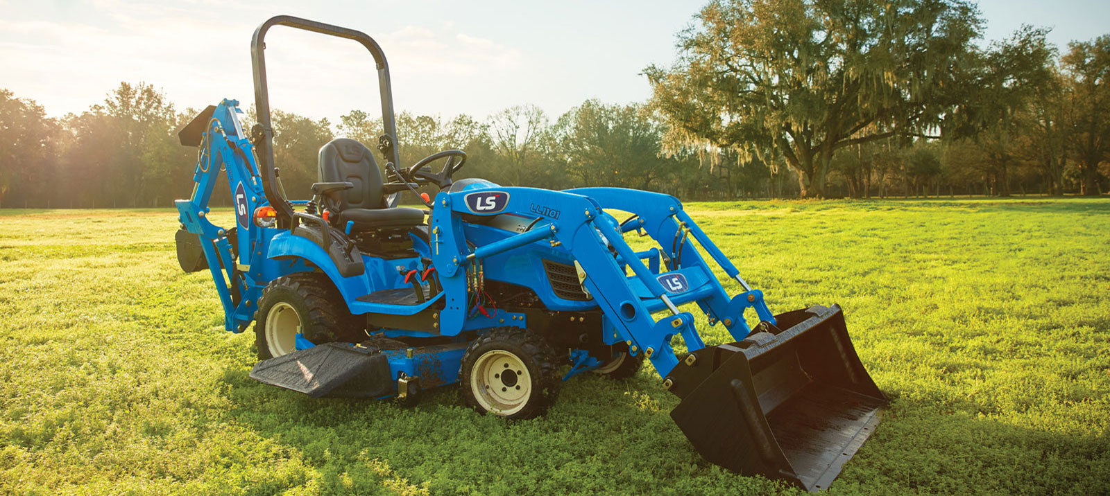 Blue LS Tractor For Sale